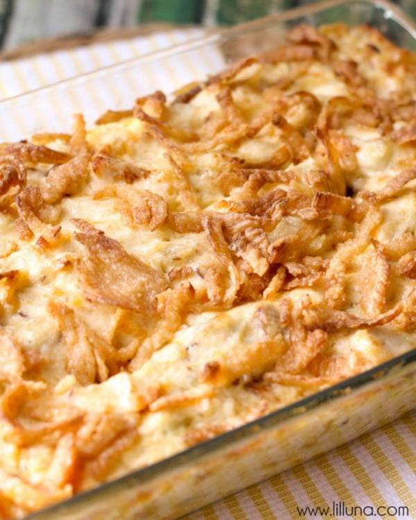 French Onion Chicken Casserole #recipe #casserole #dinner