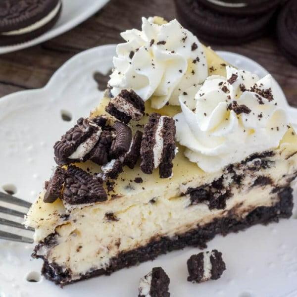 Oreo Cheesecake #dessert #cheesecake #recipe