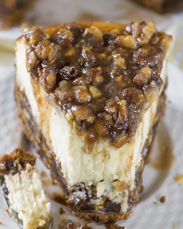 The ULTIMATE Pecan Pie Cheesecake Recipe #dessert #cheesecake #recipe
