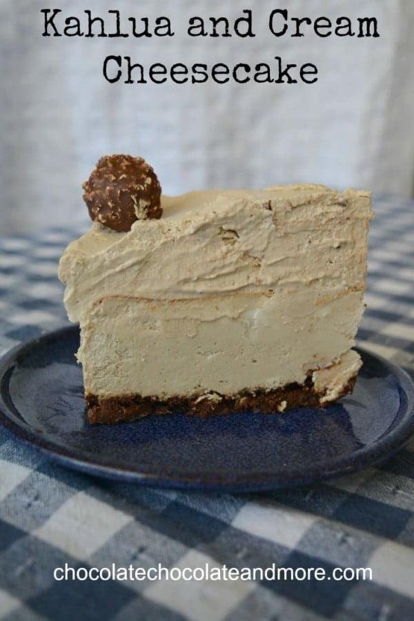 Chocolate Chocolate and More! #dessert #cheesecake #recipe