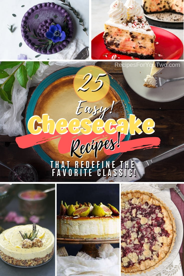 Discover new ways to make cheesecake in many different flavors. What a great list of cheesecake recipes! #dessert #cheesecake #recipe