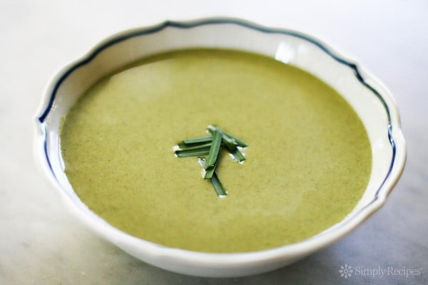 Cream of Spinach Soup Recipe #soup #dinner #creamsoup #food #recipe