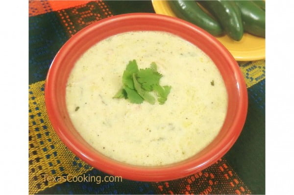 Cream of Jalapeno Soup Recipe #soup #dinner #creamsoup #food #recipe