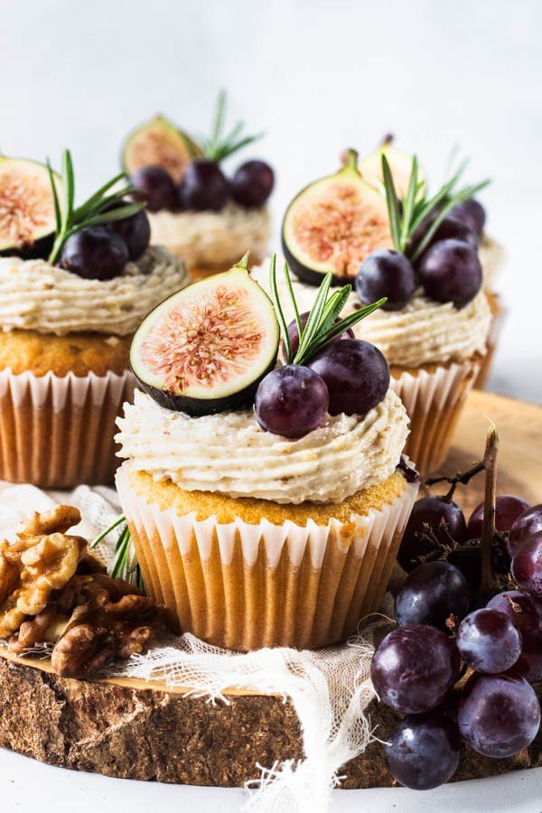 Grape Cupcakes #cupcakes #dessert #snack #food #recipe