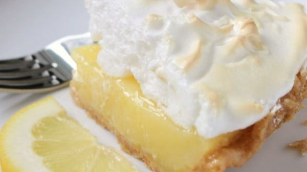 Grandma's Lemon Meringue Pie Recipe #easter #dessert #food #recipe