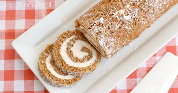 Best Carrot Cake Roll Recipe #easter #dessert #food #recipe