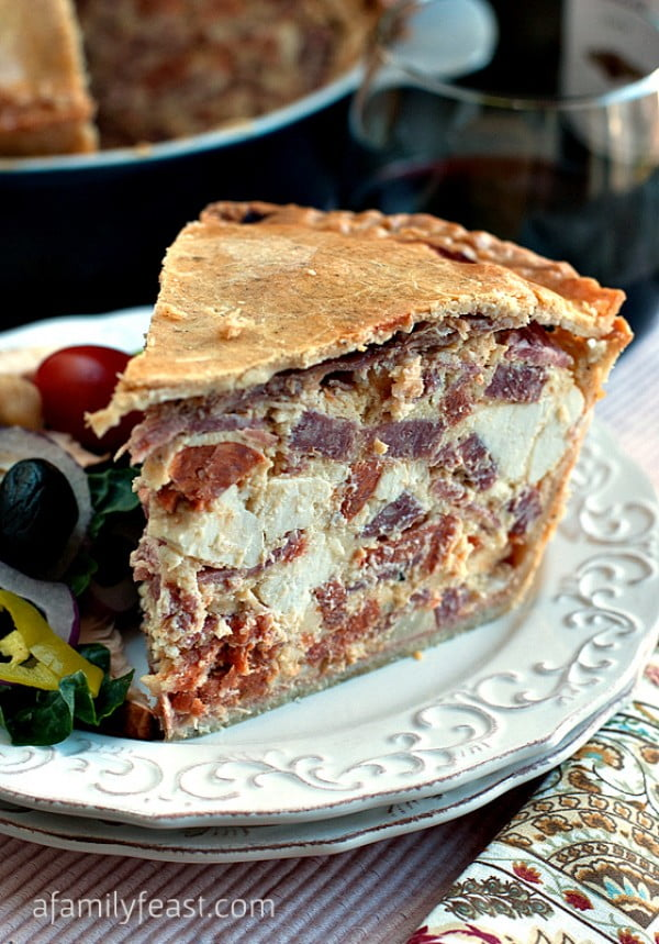 Easter Pie #easter #dinner #recipe #food