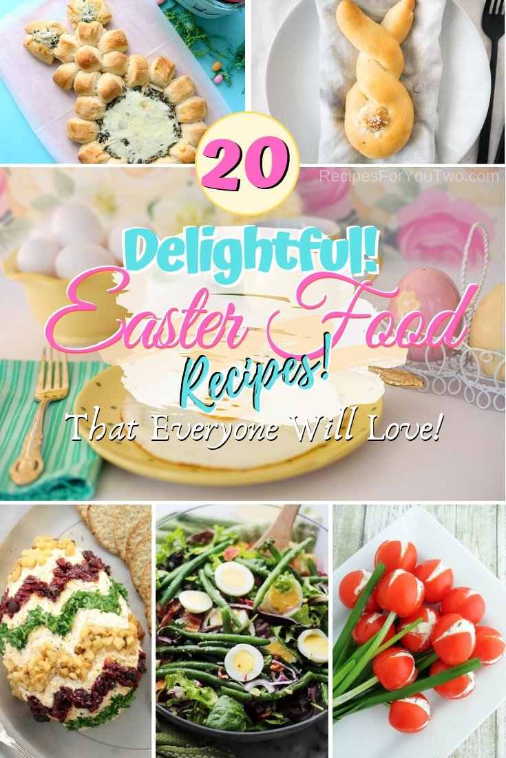 Make the best Easter dinner party ever. These are some great recipes! #food #easter #dinner #recipe