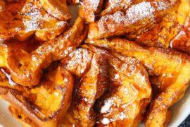 Pumpkin Spice French Toast #breakfast #frenchtoast #recipe