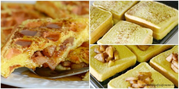 Apple Stuffed French Toast Recipe #breakfast #frenchtoast #recipe