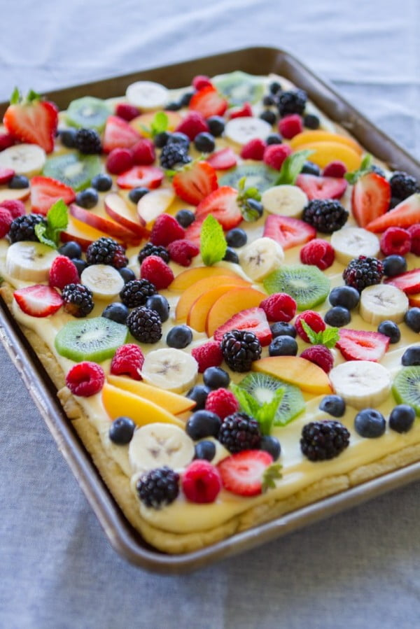 Fruit Flan #fruit #dessert #food #recipe