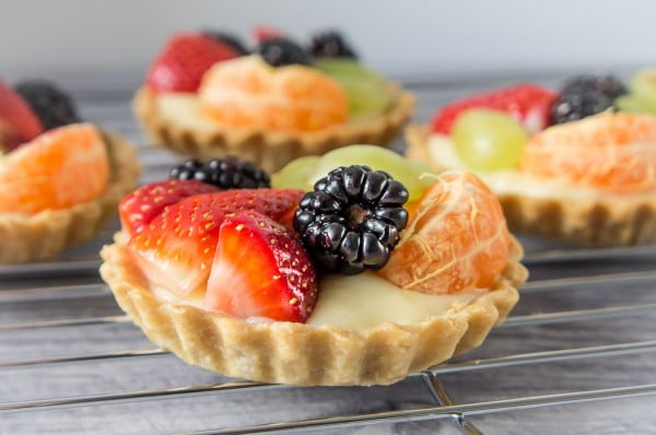Fruit tartlets #fruit #dessert #food #recipe