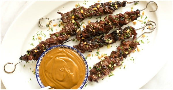 Lemongrass Beef Skewers #grill #bbq #skewers #dinner #food #recipe