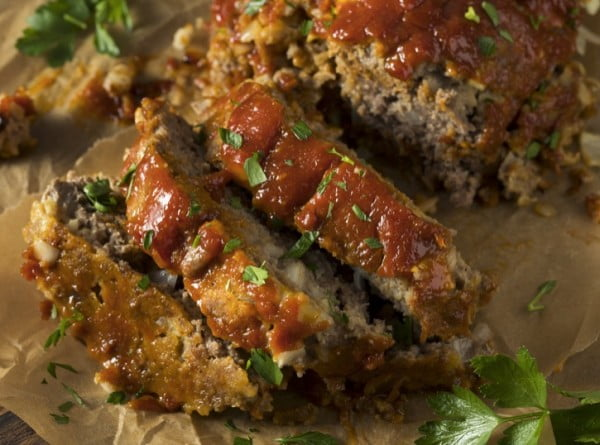 4 Ingredient Meatloaf (Ahhhmazing!) #beef #dinner #recipe