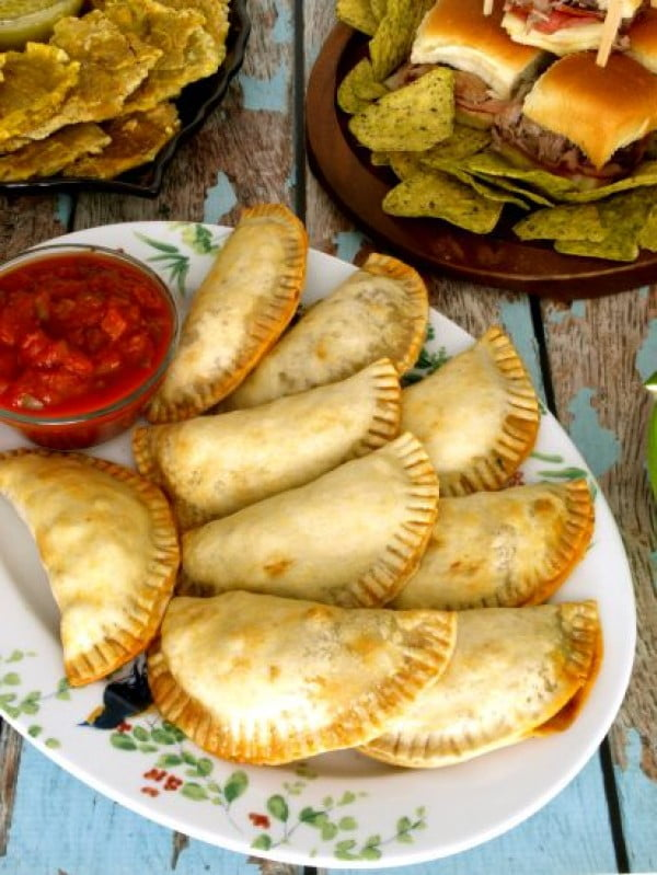 Easy Beef Empanadas #beef #dinner #recipe