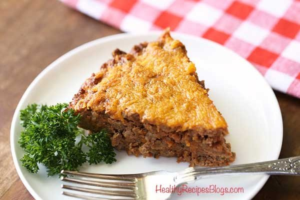 Ground Beef Meat Pie, Easy Keto Low Carb Recipe #beef #dinner #recipe