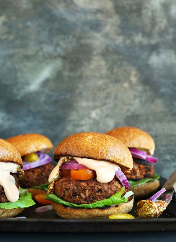 Minimalist Baker Recipes #burgers #healthy #recipe #lunch #dinner