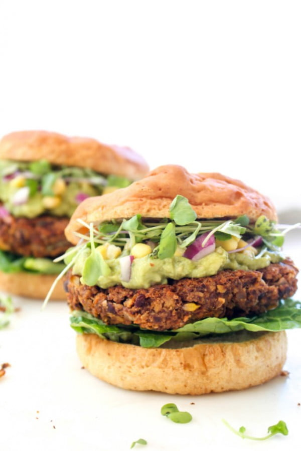California Burger #burgers #healthy #recipe #lunch #dinner