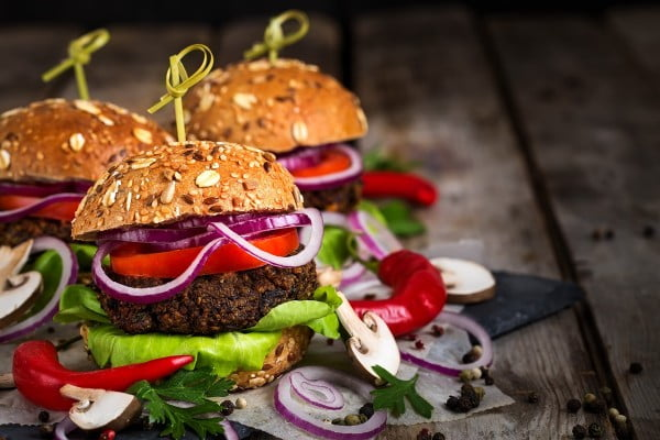 Chicago Diner Mushroom Burgers Recipe (A Vegan Copycat!) #burgers #healthy #recipe #lunch #dinner