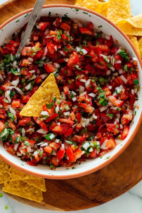 Classic Pico de Gallo Recipe #healthy #mexican #recipe #food #dinner