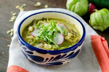 Vegan Pozole Verde « Dora's Table #healthy #mexican #recipe #food #dinner