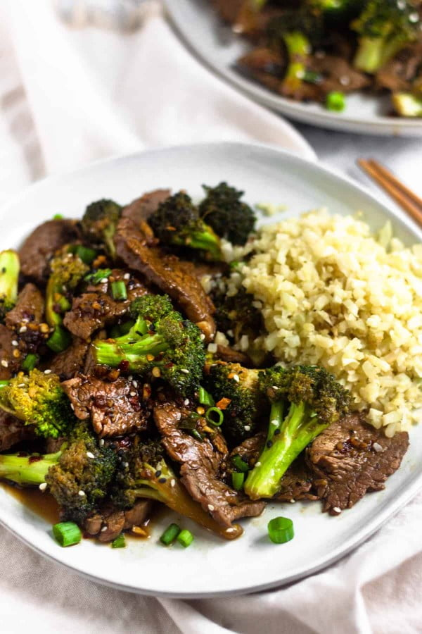 Paleo Beef & Broccoli Stir Fry (Whole30) #recipe #food #spring #dinner #healthy