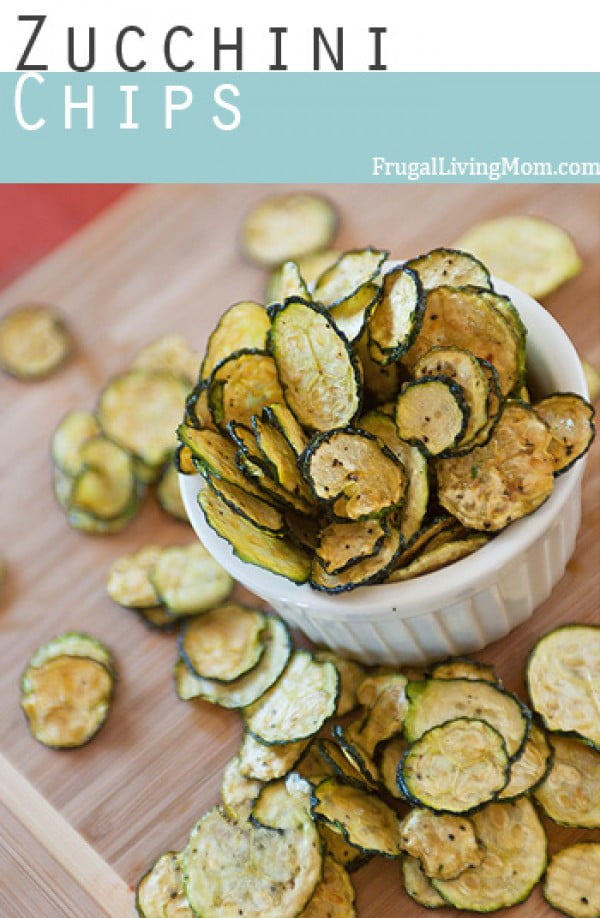 Dehydrated Zucchini Chips Recipe #zucchini #healthy #recipe #dinner