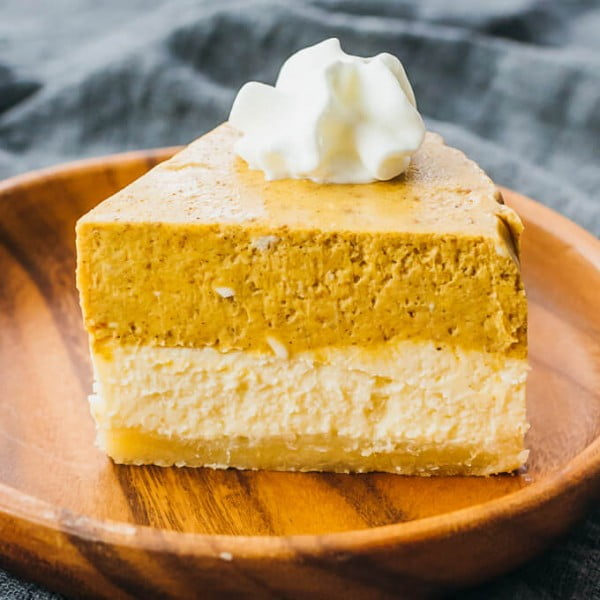 Instant Pot Pumpkin Cheesecake With Almond Crust (Keto, Low Carb) #instantpot #dessert #recipe #food
