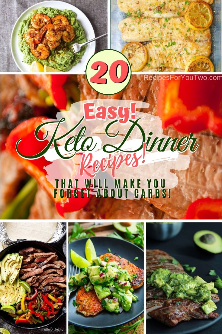 On Keto diet? Forget about carbs and feel happy about it with these amazingly delicious Keto friendly dinner recipes. Great list! #recipe #dinner #keto