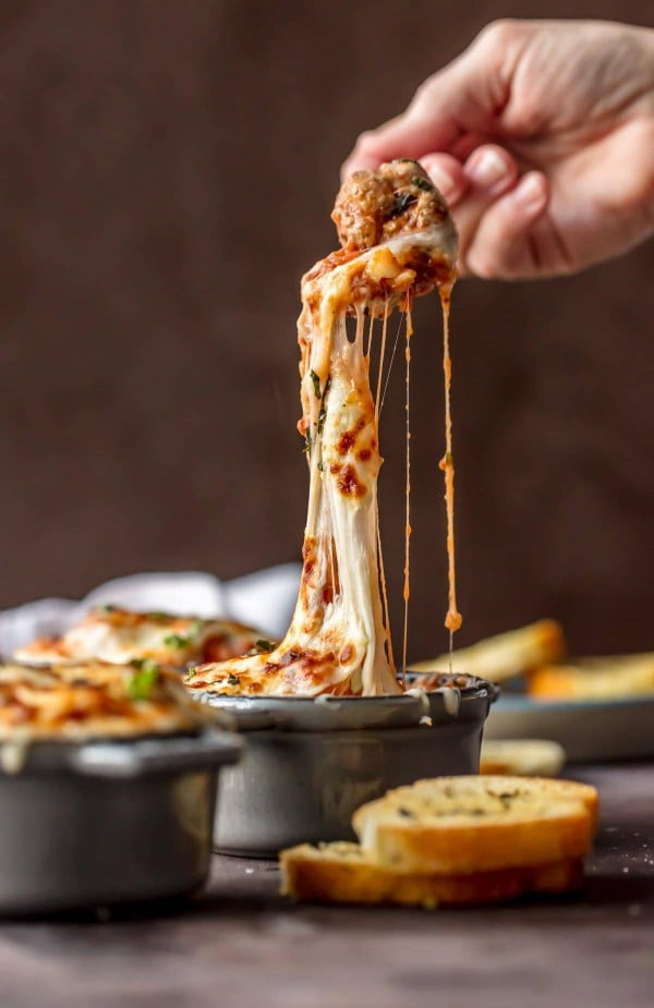 Cheesy Parmesan Meatball Soup Recipe #meatballs #dinner #recipe