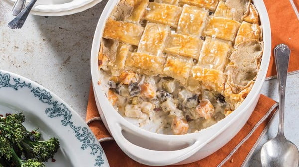 Mixed Potato Pot Pie #potpie #dinner #recipe #food