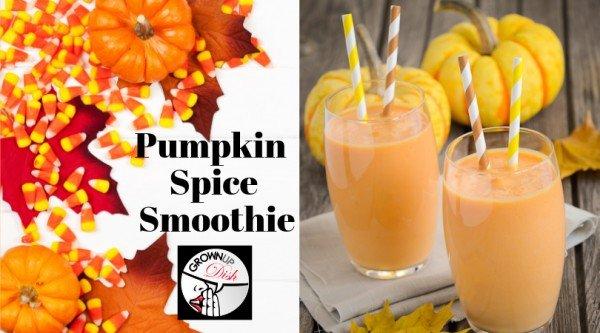 Pumpkin Spice Fab Four Smoothie #smoothie #recipe #food #drink