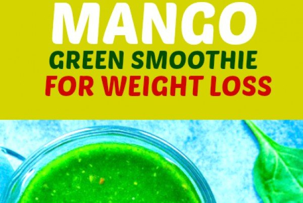 Mango Green Smoothie for Weight Loss #smoothie #recipe #food #drink