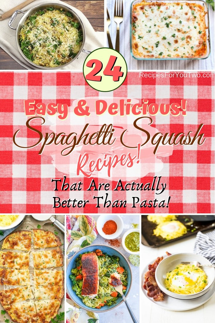 Want a healthy alternative to pasta? Here are some great spaghetti squash recipes that are even better. Great ideas! #recipe #spaghetti #squash #dinner