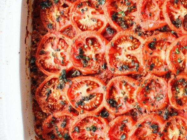 Baked Spaghetti (Squash) Casserole #spaghetti #dinner #recipe #squash
