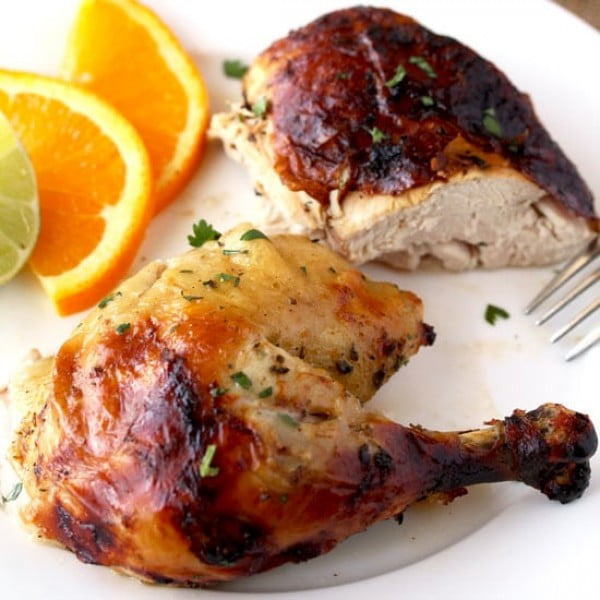 Cuban Mojo Chicken #recipe #chicken #roast #dinner