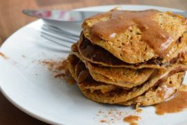 3 Ingredient Sweet Potato Pancakes #3ingredients #food #dinner #recipe