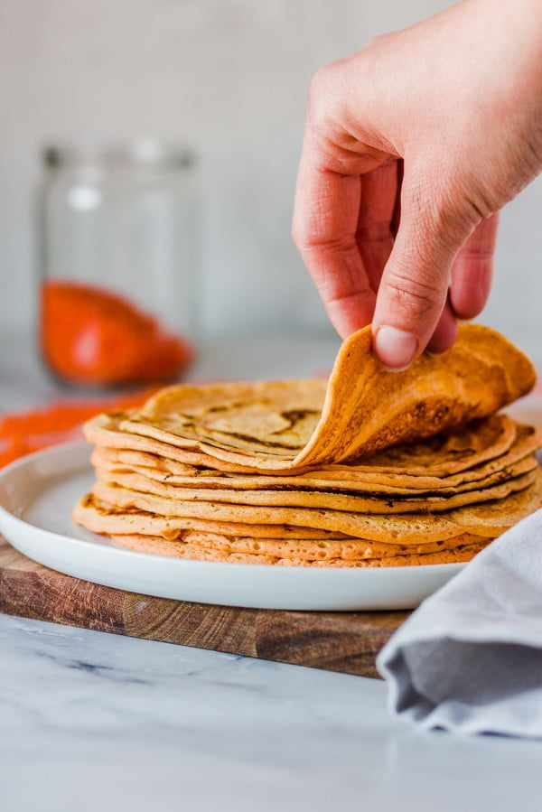 3-ingredient Lentil Tortillas #3ingredients #food #dinner #recipe