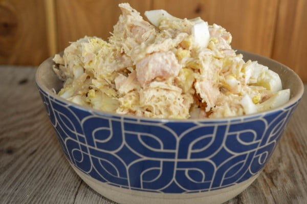 3 Ingredient Chicken Salad Recipe with Canned Chunk Chicken Breast #3ingredients #food #dinner #recipe
