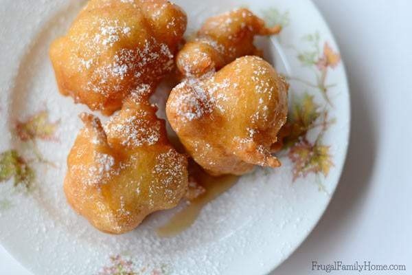 Easy 5 Ingredient Apple Fritters #5ingredient #recipe #food #dinner
