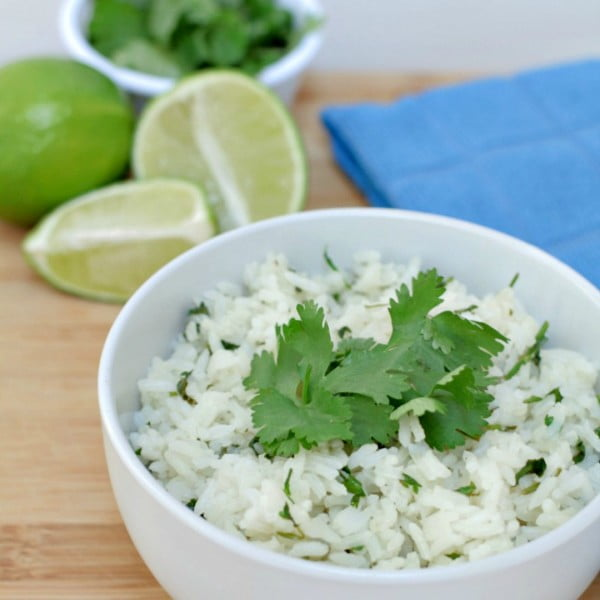 5 Ingredient Cilantro Lime Rice #5ingredient #recipe #food #dinner