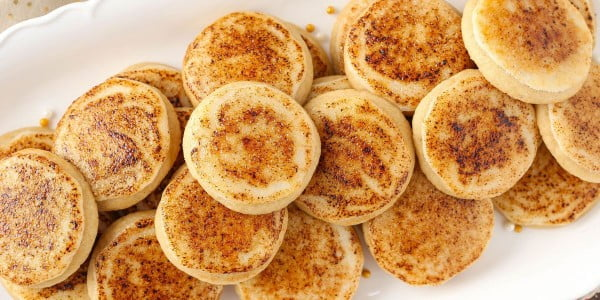 Creme Brûlée Sugar Cookies Won't Last 10 Minutes In Your House #cookies #snacks #dessert #food #recipe