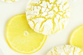 Lemon Crinkle Cookies #cookies #snacks #dessert #food #recipe