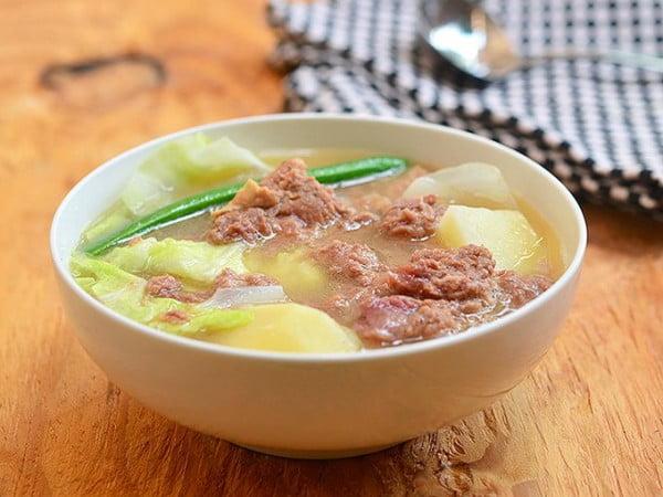 Corned Beef Nilaga #cornedbeef #beef #dinner #recipe