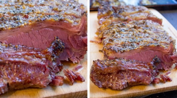 Crispy Slow Cooker Corned Beef #cornedbeef #beef #dinner #recipe