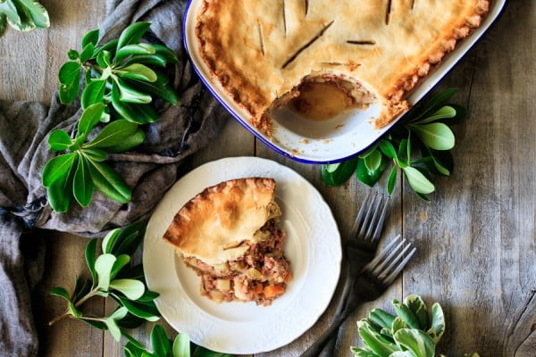 Old Fashioned Corned Beef Pie #cornedbeef #beef #dinner #recipe