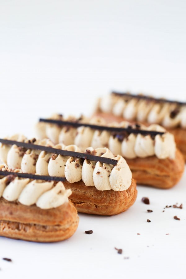 Coffee Eclairs #eclair #dessert #recipe