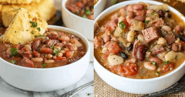 Ham and Bean Soup #ham #recipe #dinner