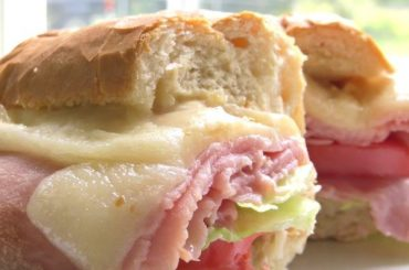 Baked Hot Ham Cheese Sandwiches #ham #recipe #dinner