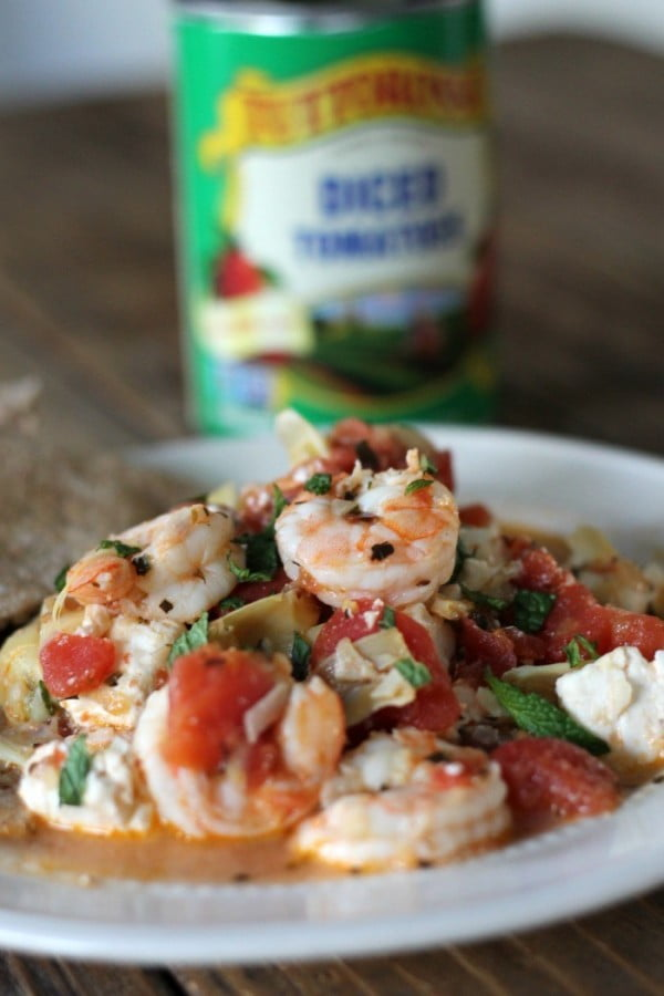One-pot Greek Shrimp #healthy #onepot #dinner #food #recipe